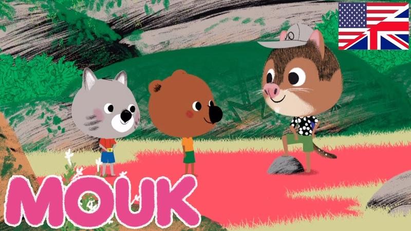 Mouk - Wallabies rock ( Australia ) and Baobab café | Cartoon for kids
