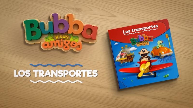 Los transportes Cuenta cuento Bubba y sus Amigos LeyendoJuntos