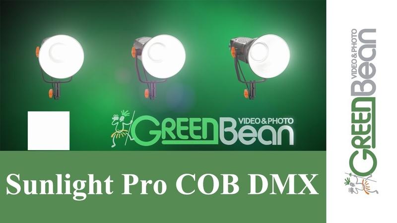 Обзор новых осветителей GreenBean серии SunLight Pro Cob dmx