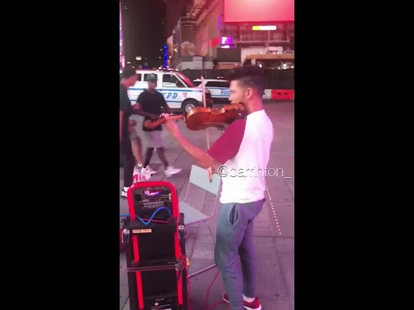 When New Yorkers Hear A Violin