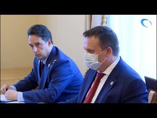 Губернатор Новгородской области Андрей Никитин провёл личный приём граждан
