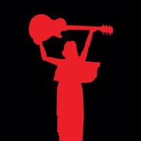 Логотип ROCKALUGA. Музыкальный портал