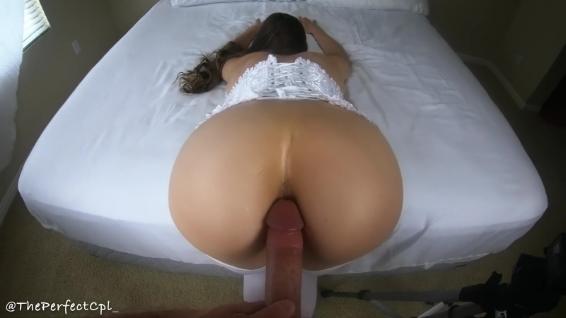 First time anal 10, 000 subs celebration sextape from