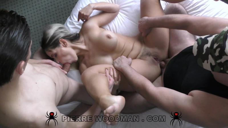 Vittoria Dolce ( Hard My first DAP with 2 men) Anal, DP, DAP, Threesome, Big Ass, Blowjob,