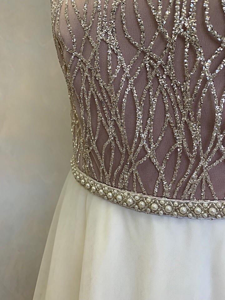 Персональный пошив платья для нашей заказчицы