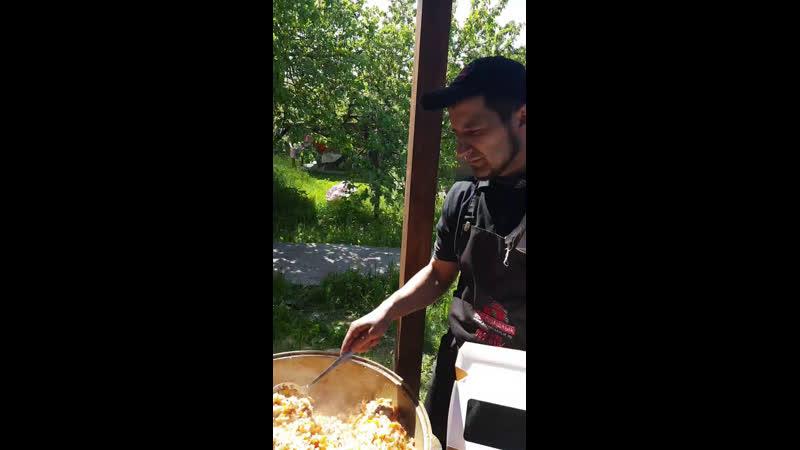 Онлайн шашлычная турбаза заимка раздача плова шашлыка последний звонок
