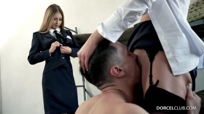 Rebecca Volpetti Amirah Adara ( Two warden share a prisoner) 2018, All Sex, Hardcore, Anal, Threesomes,