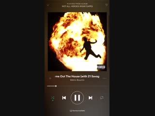 21 Savage записывает трек, пока мама спит Рифмы и Панчи