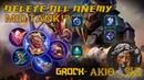 Miders Tank Grock Delete All Enemies - Classic Top grock by ᎪᏦIᎾ﹏일곱 - ML (Mobile legends)