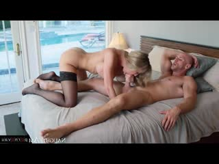 Brandi Love & Johnny Sins [ Mothers &  In stockings,Чулки / Deep blowjob, Old with young, horsewoman, Beautiful lingerie, Ro