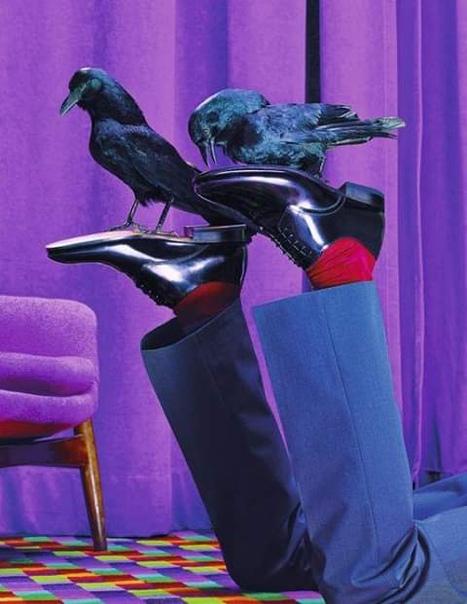 У русских мужчин никогда не будет секса Вы видели, какую обувь они носят Ну где вы берете эти грёбанные саквояжи-говноступы!Я понимаю, что тут холодно, но в ваших ботинках можно не просто жить