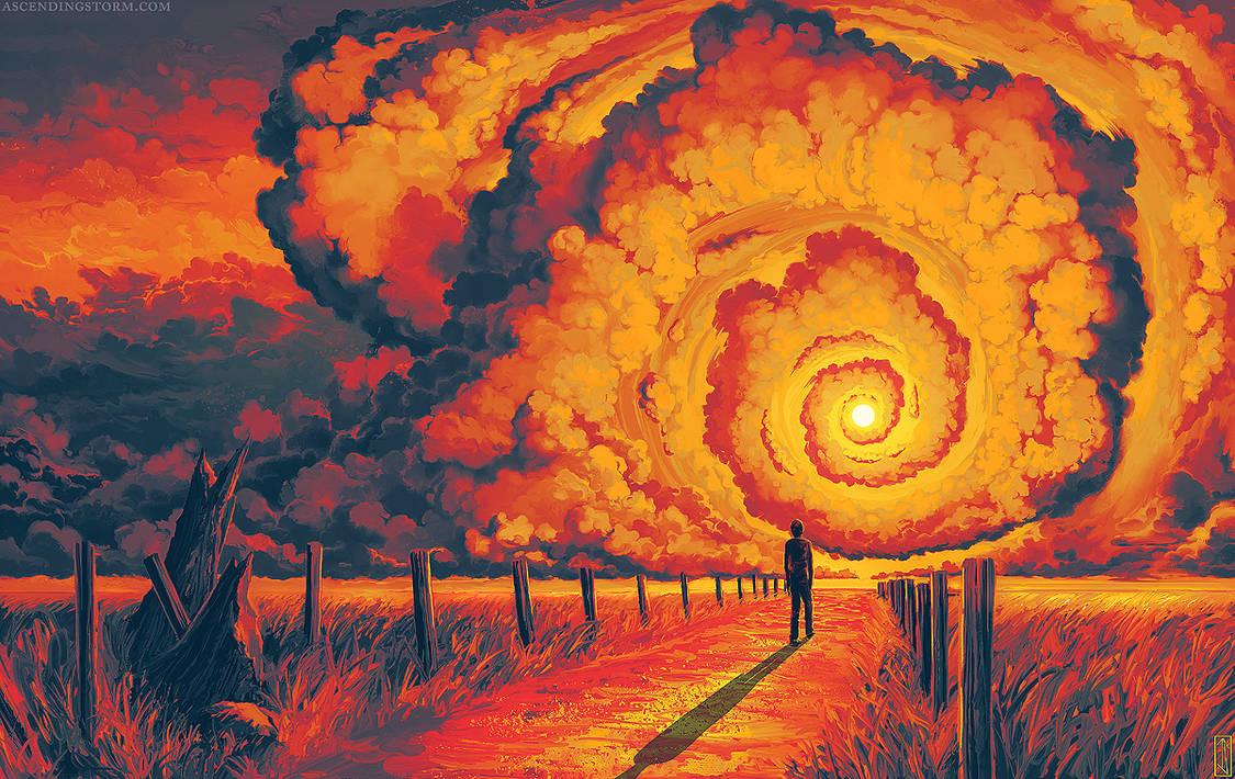 «Diissection of Memoryа», картина художника под псевдонимом Ascending Storm