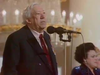 Юрий Никулин рассказывает анекдот для ветеранов ВОВ, 1994 г