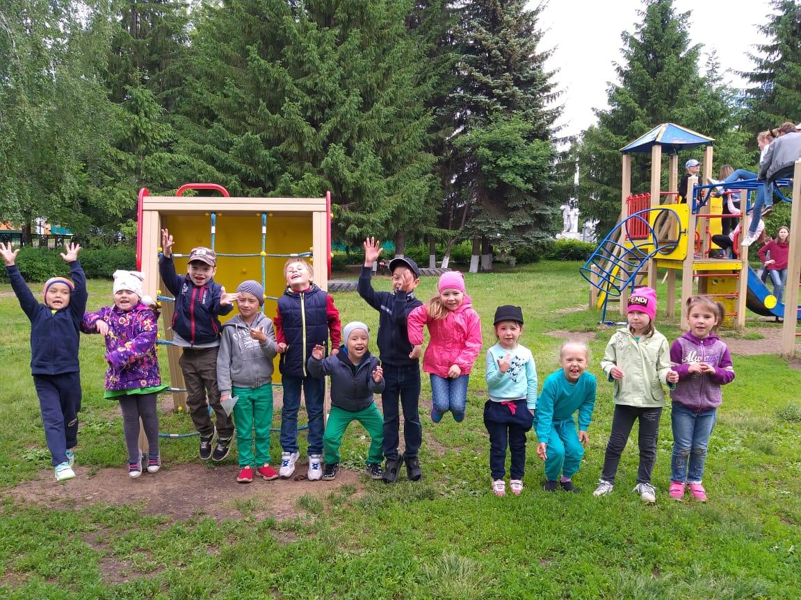Организация детской оздоровительной площадки