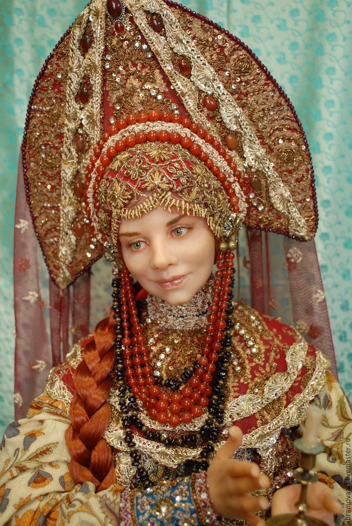 Невероятно реалистичные куклы от Алёны Абрамовой.