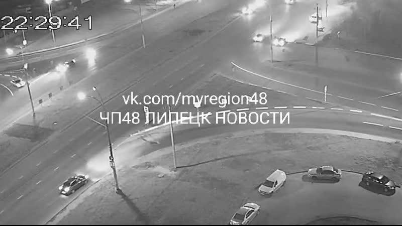 ДТП с мотоциклистом ул. Катукова