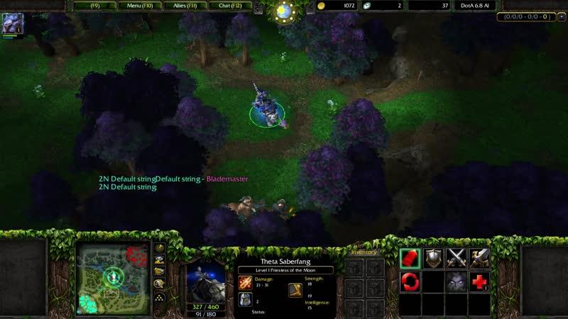 Дота Аллстарс на новом движке Warcraft Reforged