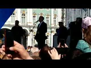 Александр Беглов: В нашем городе живут активнутые, противные люди