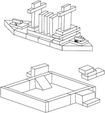 КОНСТРУИРОВАНИЕ ДЛЯ МАЛЫШЕЙ (1-7 ЛЕТ) Что можно построить из детского деревянного конструктора: варианты построек для детей от 1 года до 7 лет.Автор разработки - Л. В.