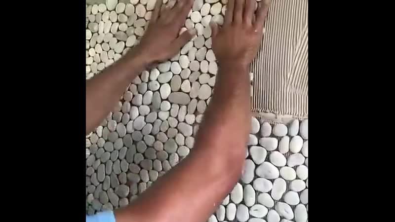 Отличная альтернатива плитке - декор стены
