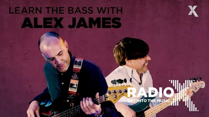 Blur's Alex James teaches bass guitar   How To Start A Band   Radio X