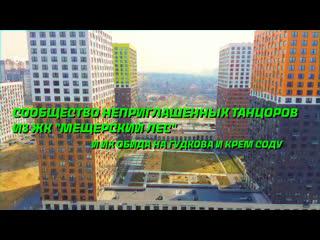 Жители ЖК Мещерский лес сняли свою версию клипа Плачу на техно  Москва 24