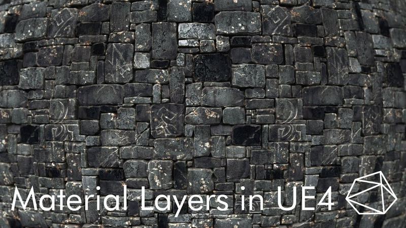 UE4 Tutorial How To Make a Basic Layered Material in UE4 pt 2