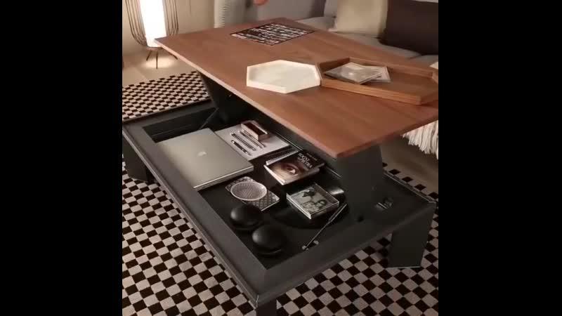 Компактный и удобный кофейный столик