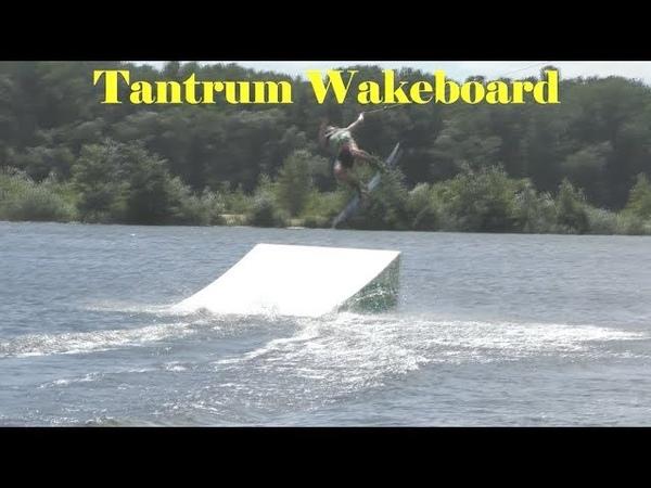 How to Tantrum Wakeboard Kicker Wakeboard tutorial Тантрум с кикера обучалка
