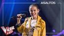 Marta Berlín canta 'Ex's and oh's' Asaltos La Voz Kids Antena 3 2019