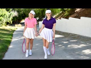 Allie Nicole, Athena Faris - Stepsister Tennis Sex |  All Sex Teen Threesome Doggystyle Brazzers Porn Порно Инцест