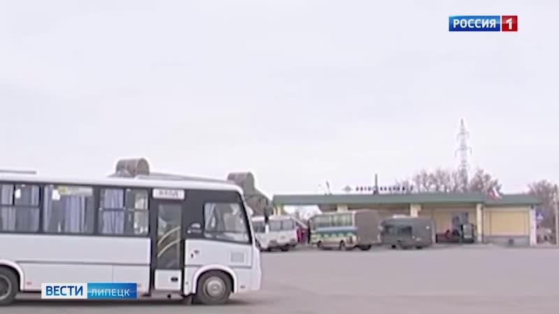 В автобусе Москва-Липецк ехал пассажир с подозрением на коронавирусом