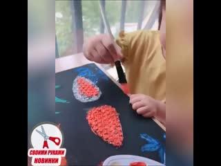 мастер-класс по рисованию от малышки
