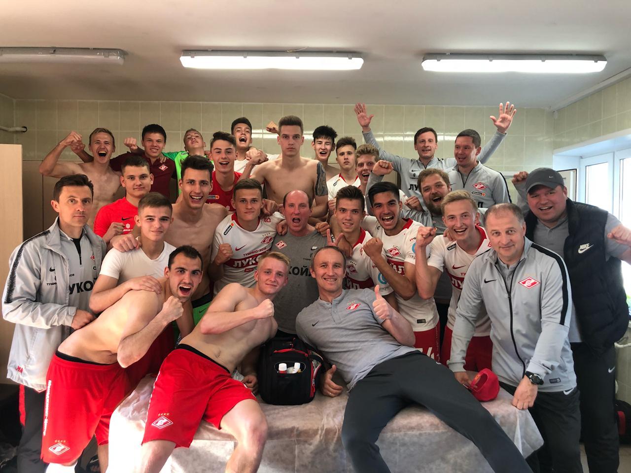 Дублеры «Спартака» разгромили «Арсенал» (Видео)