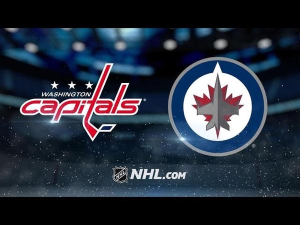 Washington Capitals vs Winnipeg Jets | Feb.27, 2020 | NHL 1920 | Game Highlights | Обзор матча