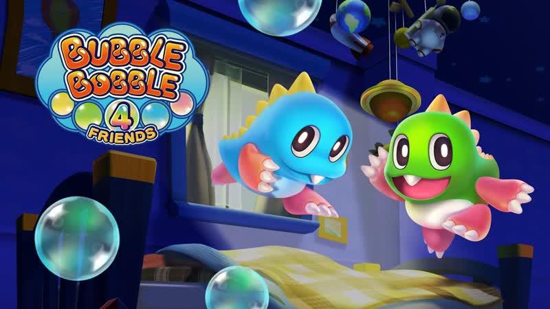 Bubble Bobble 4 Friends Анонсирующий трейлер Nintendo Switch