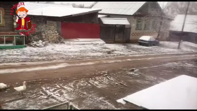 А снег кружил и падал...