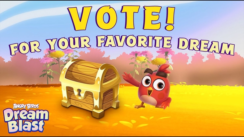 Angry Birds Dream Blast VOTE For Your Favorite Dream