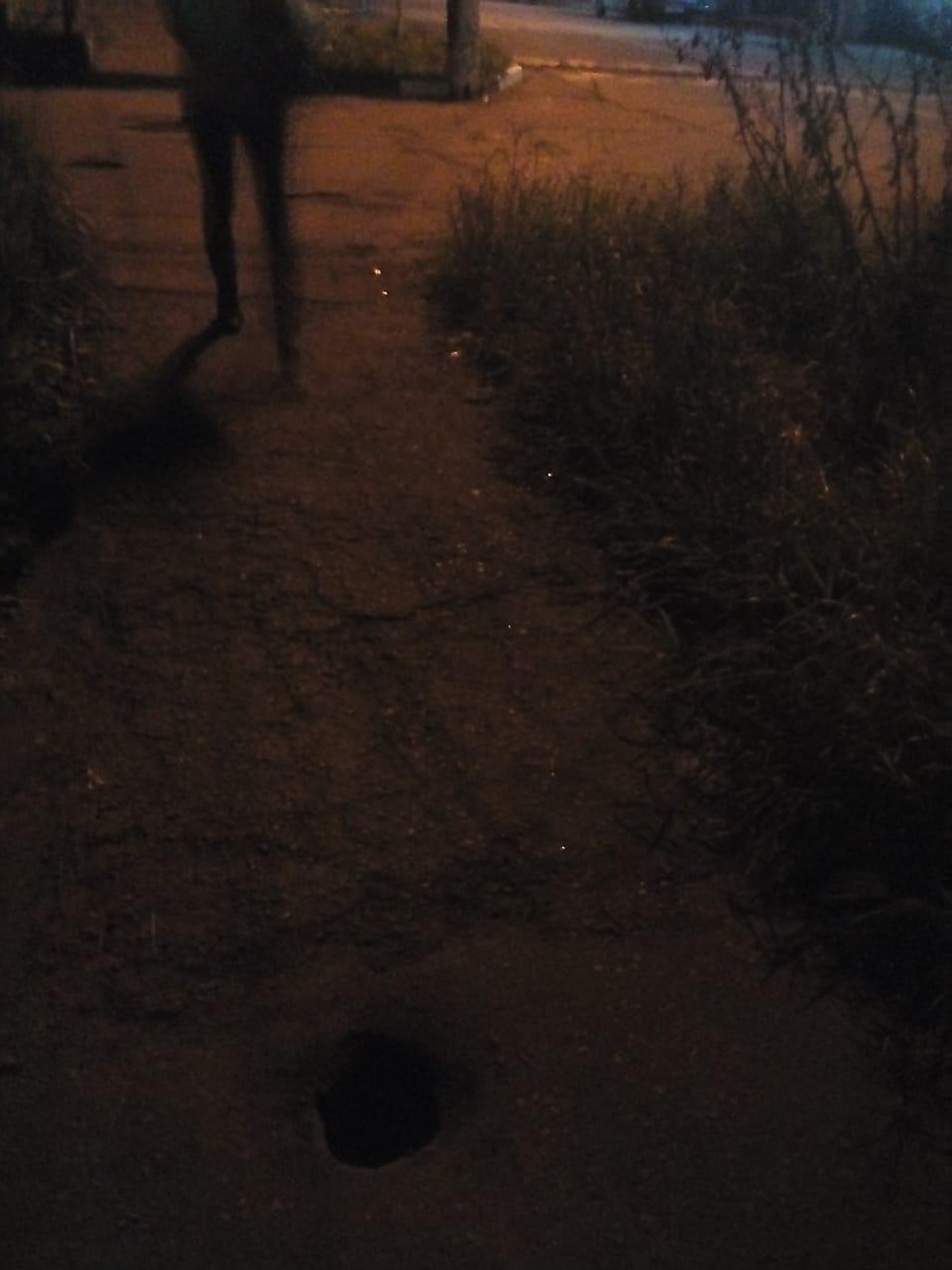 Из присланного:  Ночной капкан на Гагарина
