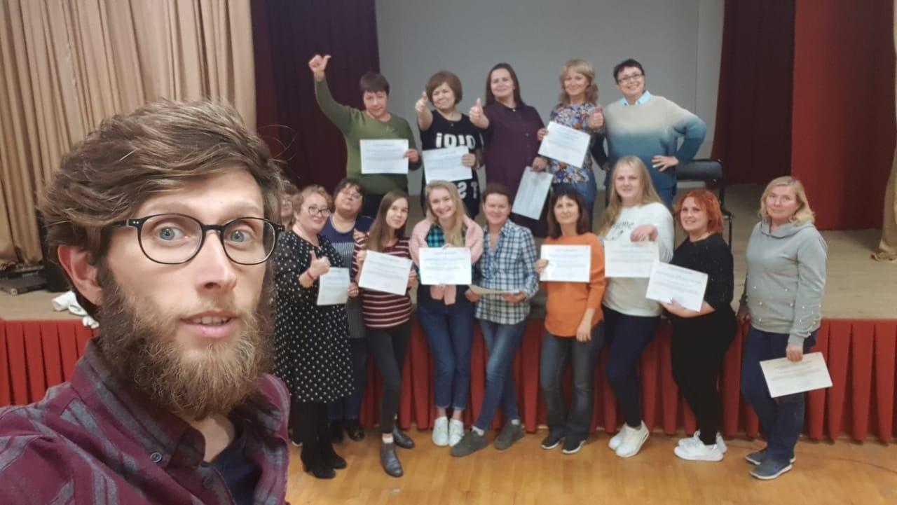 В Волжске открылись творческие мастерские для особенных детей