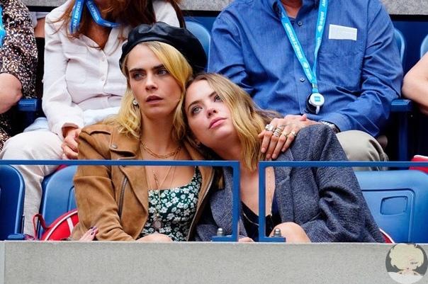Меган Маркл, Джиджи Хадид, Кара Делевинь c трибун наблюдали поражение Серены Уильямс в финале US Open Вчера вечером в США состоялся финальный матч теннисного турнира US Open среди женщин, в