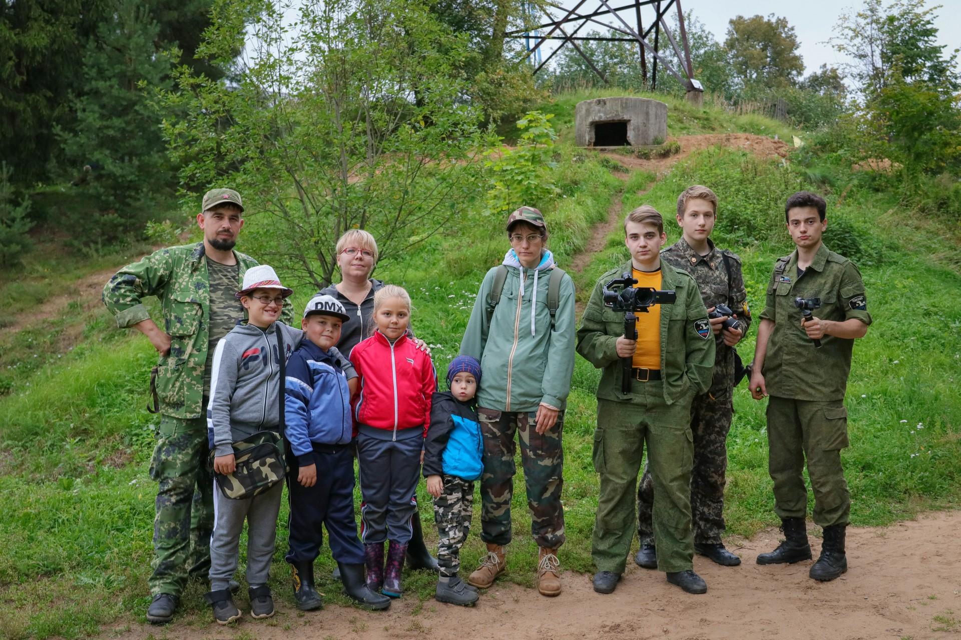 Команда добровольцев