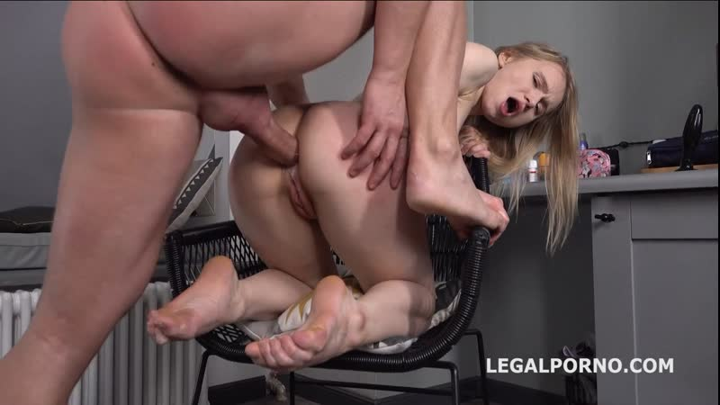 Light Fairy Mr. Andersons Anal Casting, first time anal with rough action Russian Rimjob Gagging Hardcore,