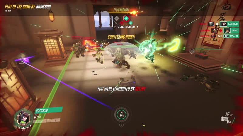 We were supposed to lose the game but the enemy Roadhog had some different plans in mind