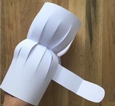 НОВОГОДНИЕ ПОДЕЛКИ. Поделка из бумаги: Снеговик Подробный мастер класс по изготовлению снеговика из бумаги своими