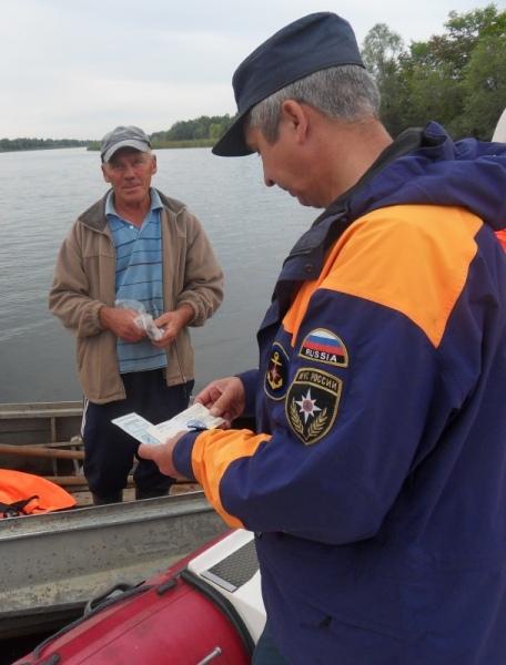 Патрулирование водных объектов Марий Эл будет осуществляться до окончания периода навигации
