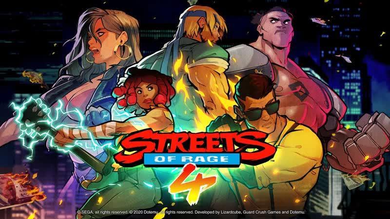 Streets of Rage 4 новый трейлер анонс героя и мультиплеер игры