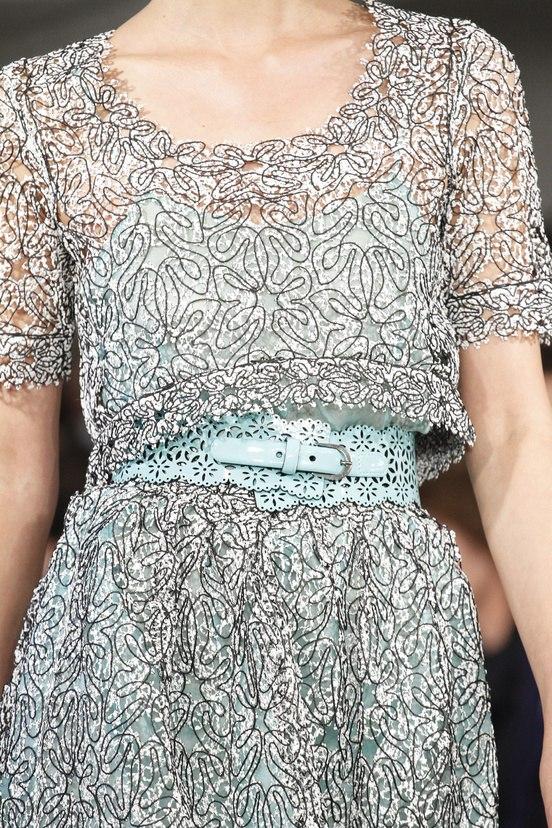 Модели одежды из перфорированного материала