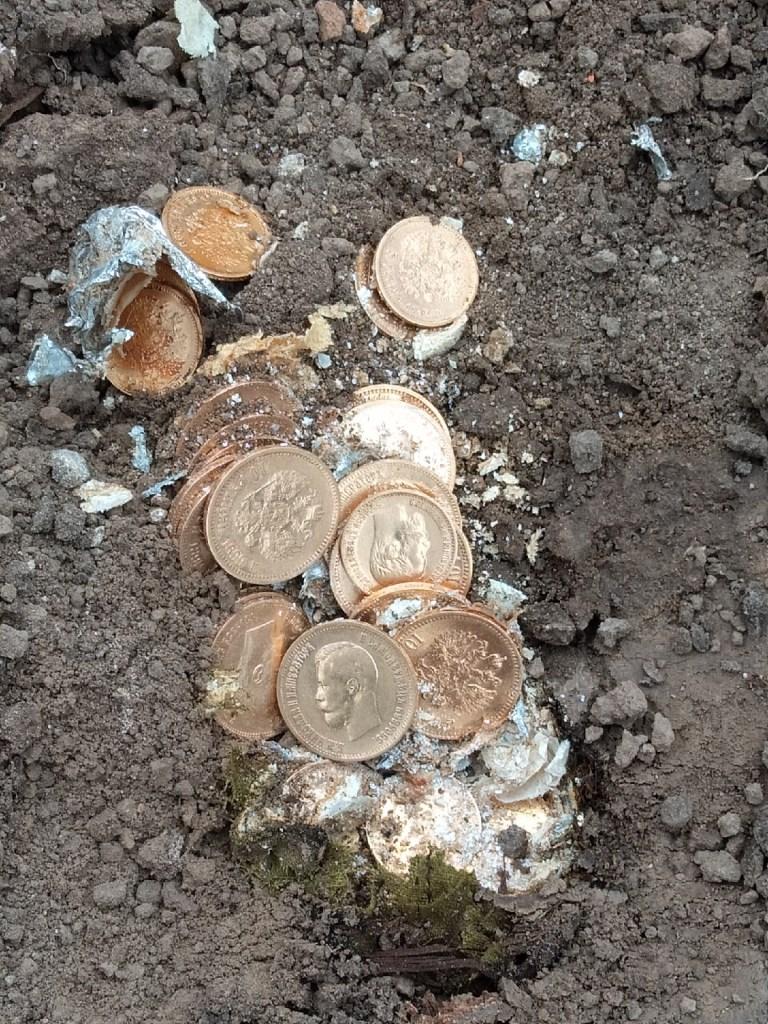 Курские археологи нашли золотой клад конца XIX – начала XX веков