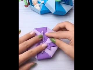 Клевая коробочка для сюрприза